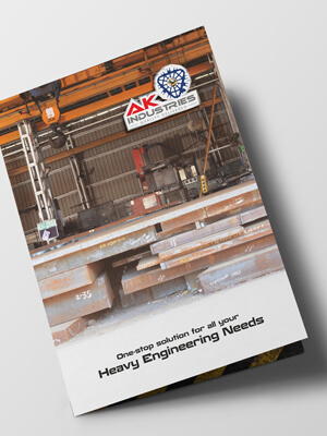 AK Industries Brochure Design