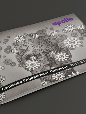 Apollo Tyres Employee Engagement Calendar Design