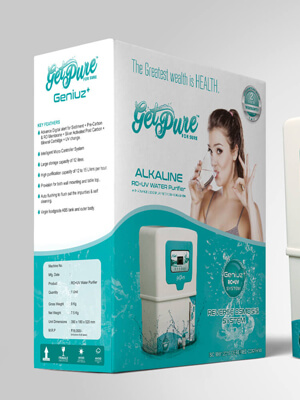 Getpure Product Packaging Design