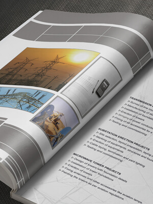 Teems India Project Brochure Design
