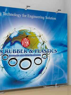 VRK Rubbers Exhibition Stall Design & Printing