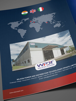 Wilson Power Brochure Design